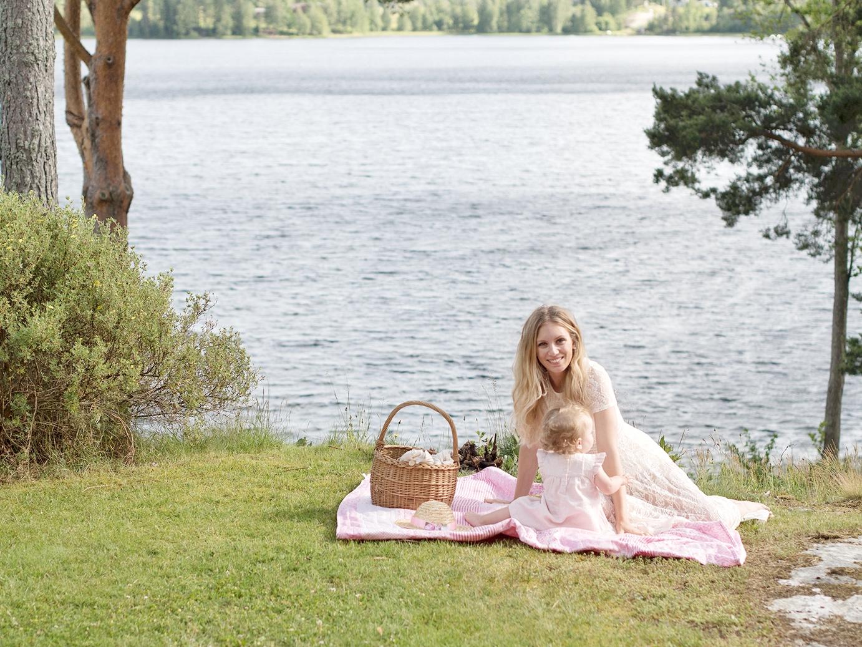 Picknick med barn