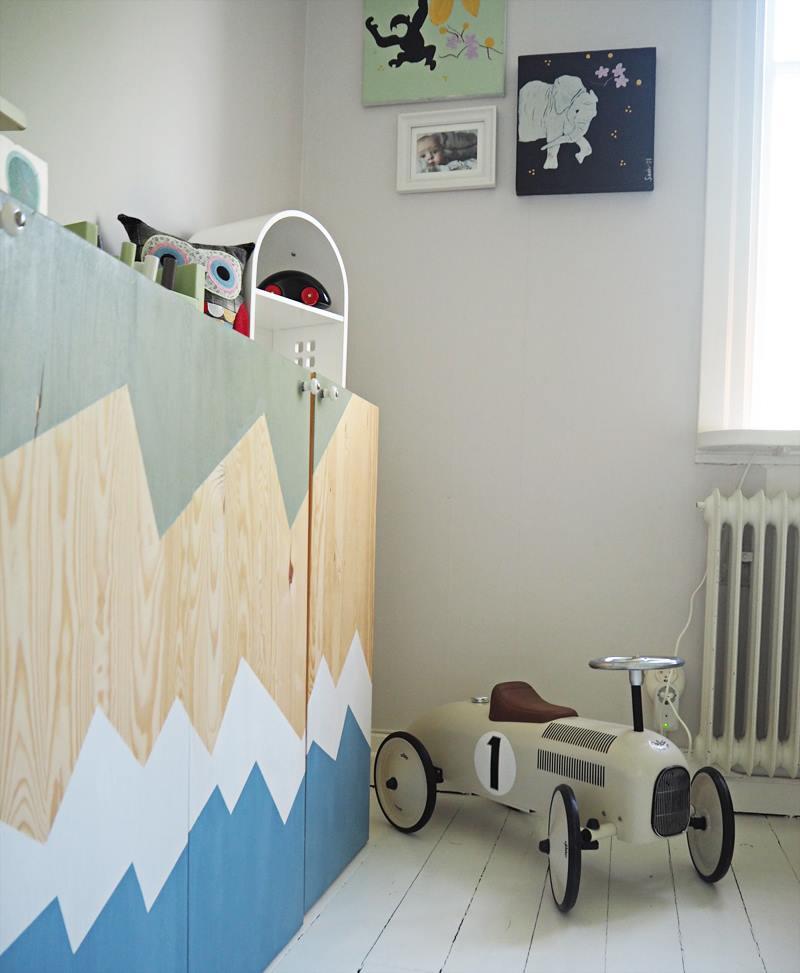 DIY Ikeaskåp