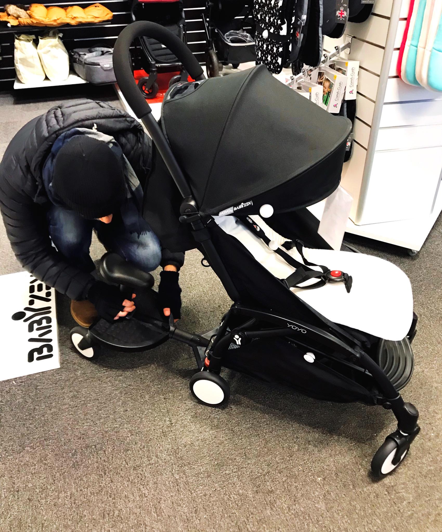liten barnvagn
