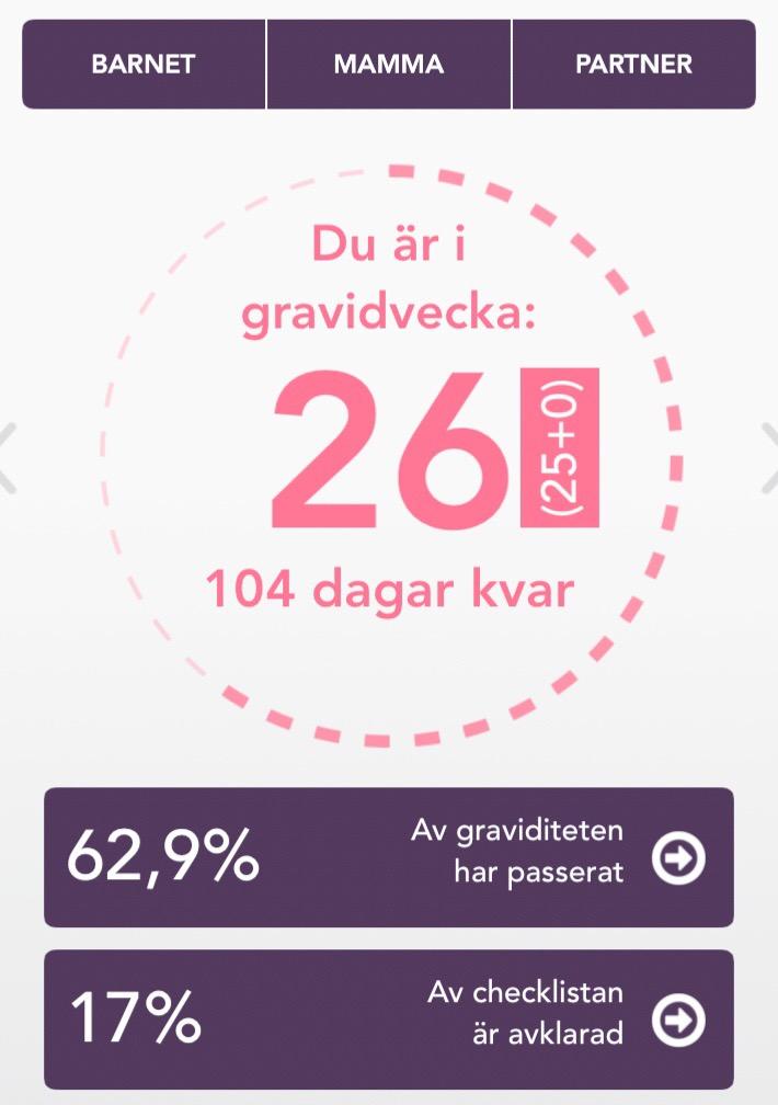 Gravid vecka 26