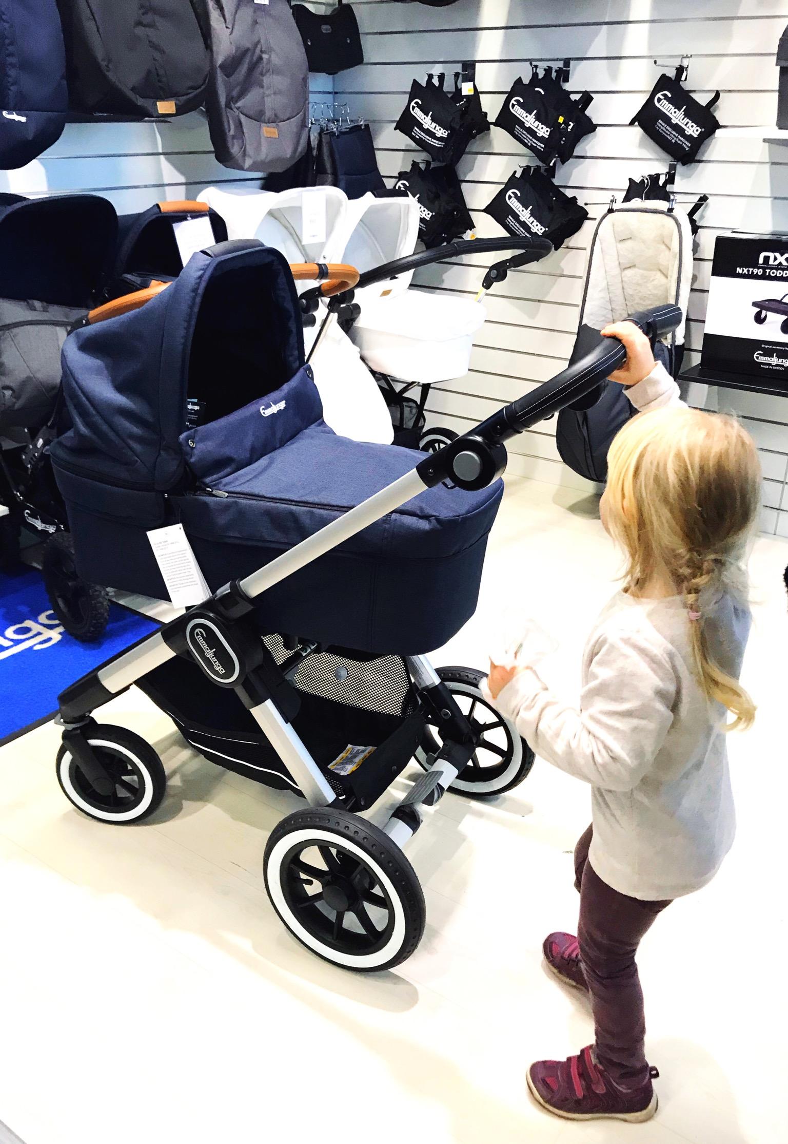 köpa barnvagn