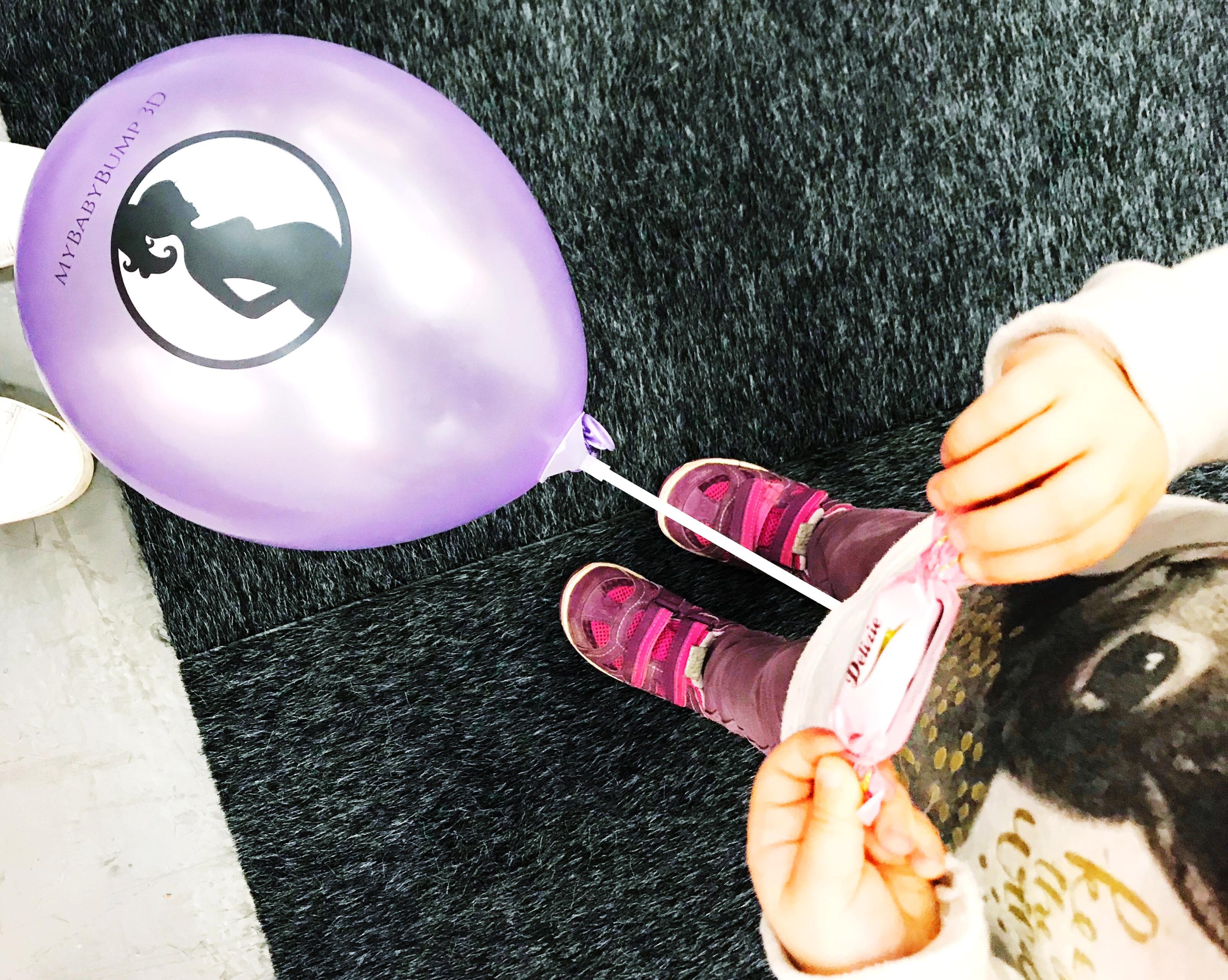 lila ballong