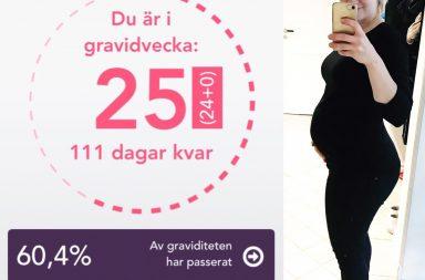 gravid med andra barnet vecka 25