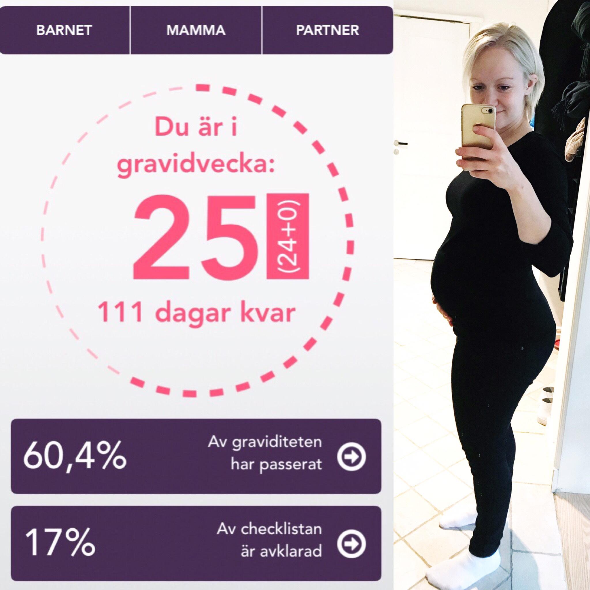 gravid vecka 25