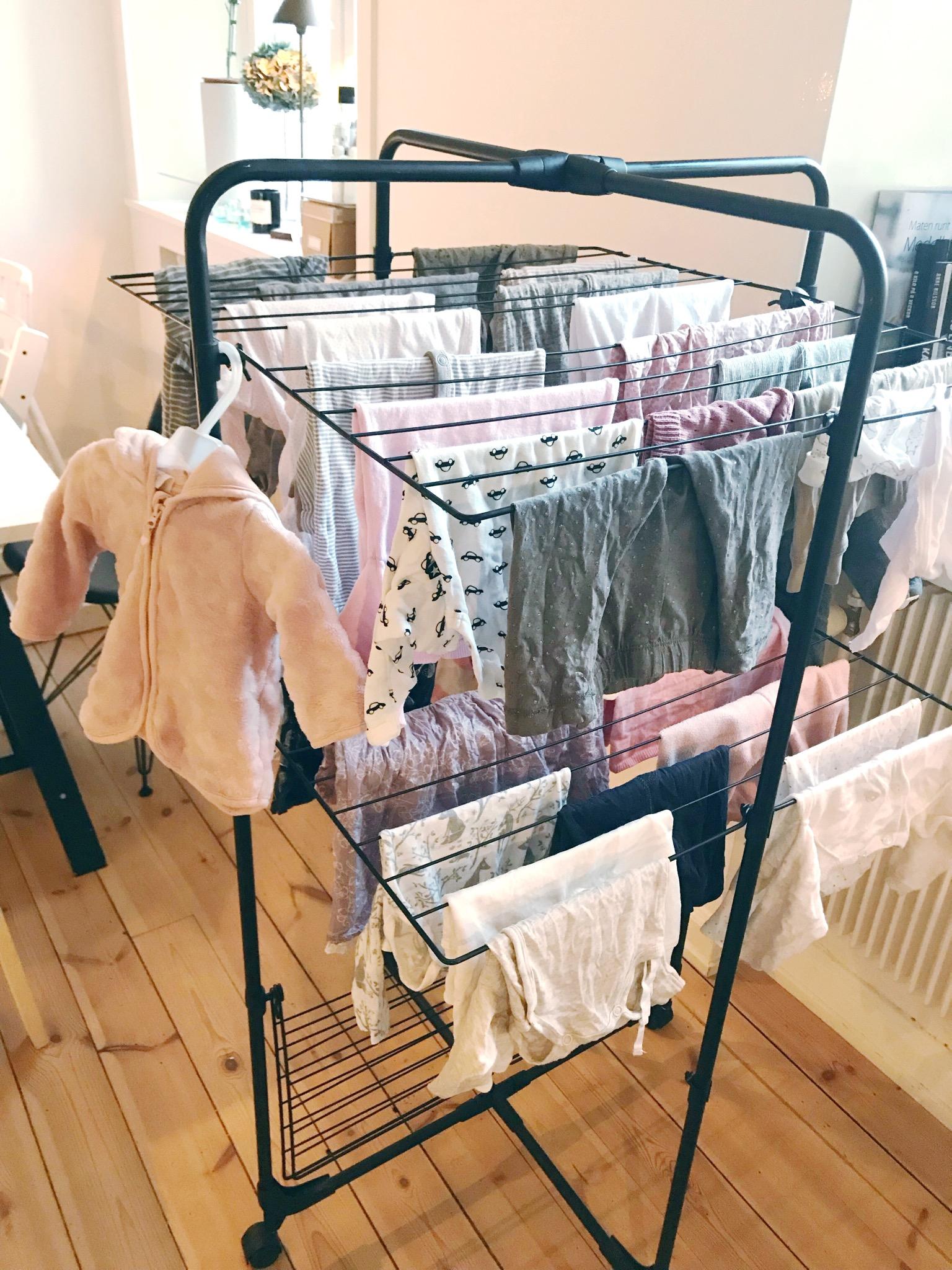 tvätta bebiskläder