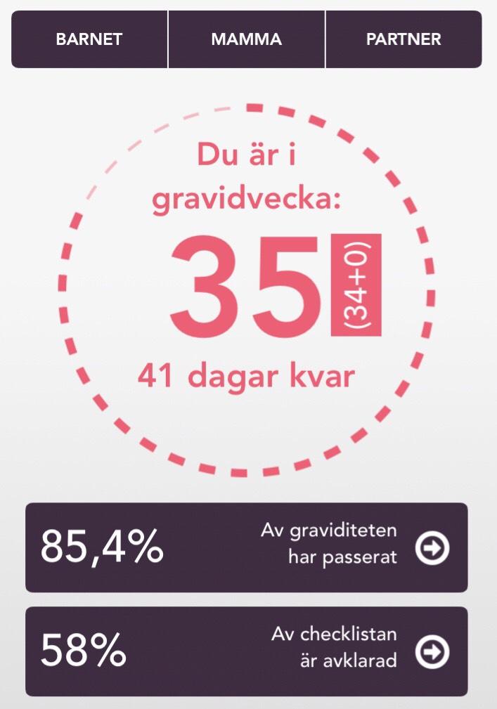 graviditetsvecka 35