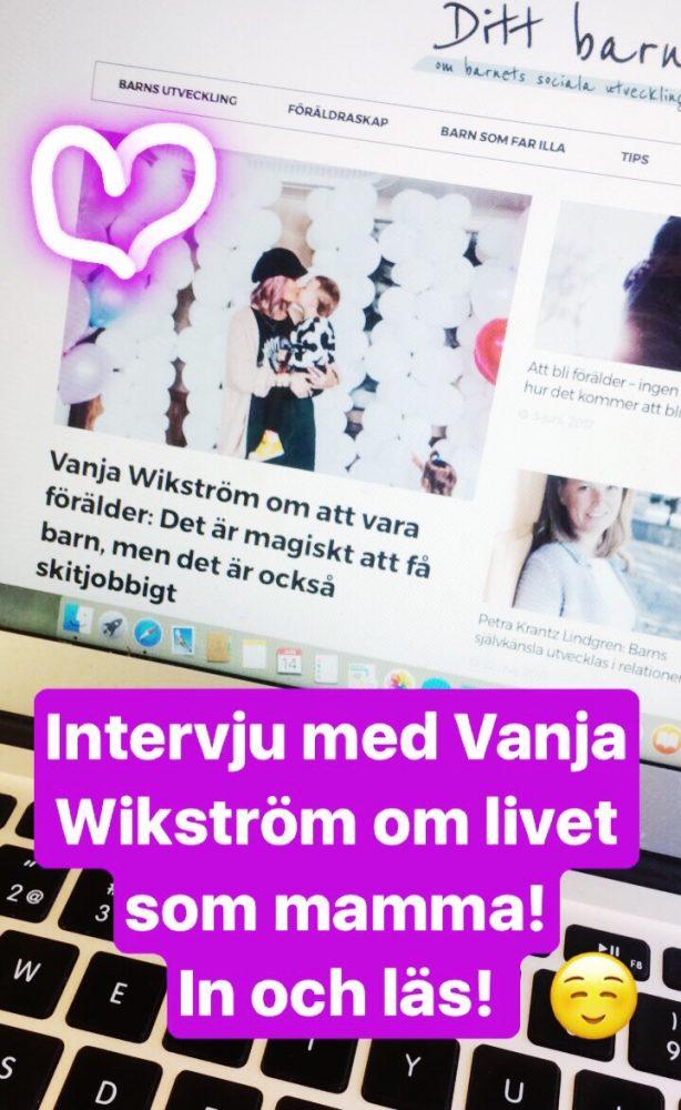 intervju med vanja wikström