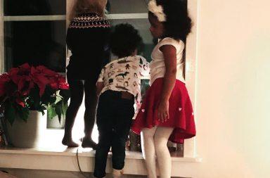spanar efter jultomten
