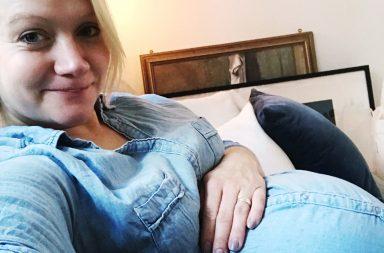 gravid vecka 40
