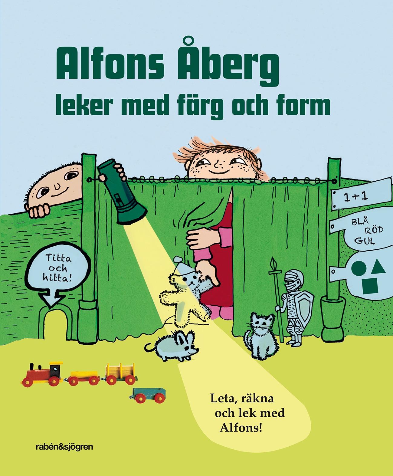 Alfons Åberg lek med färg och form