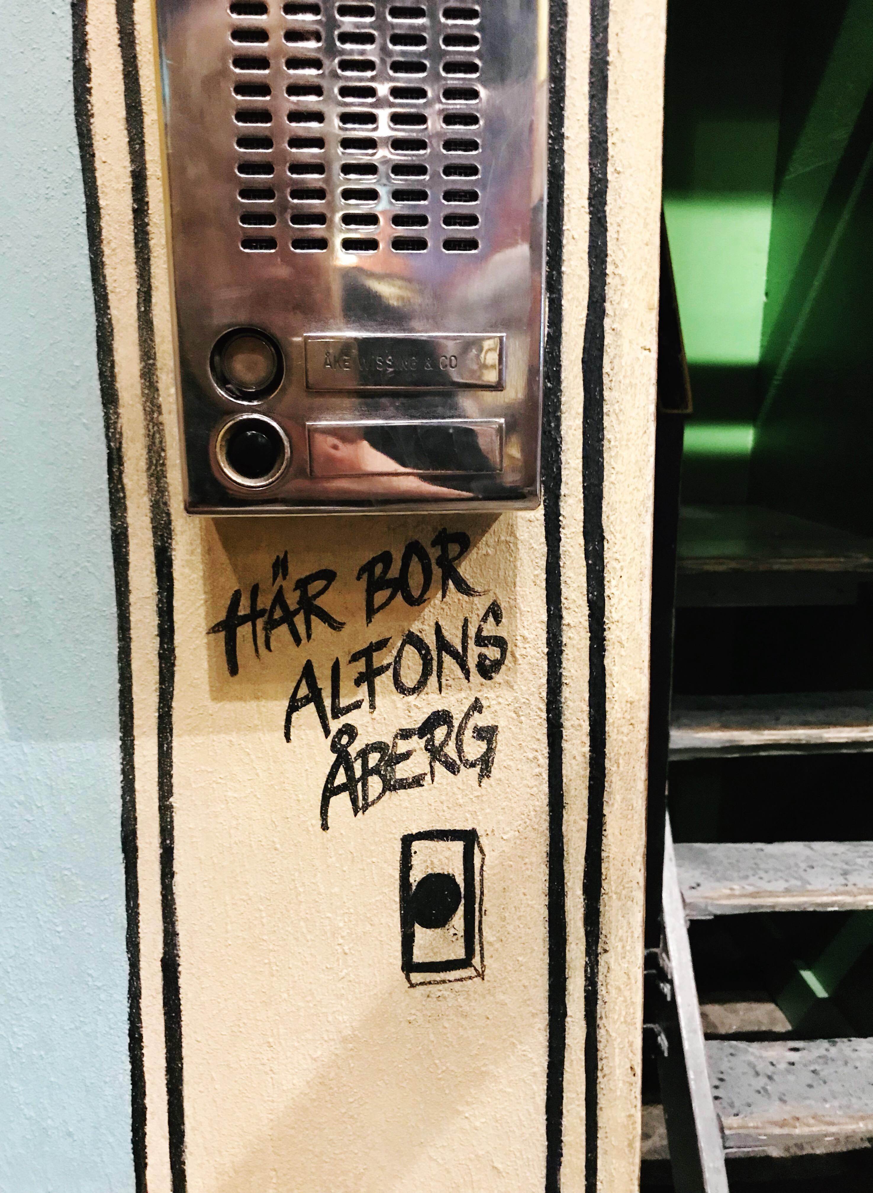 Här bor Alfons Åberg