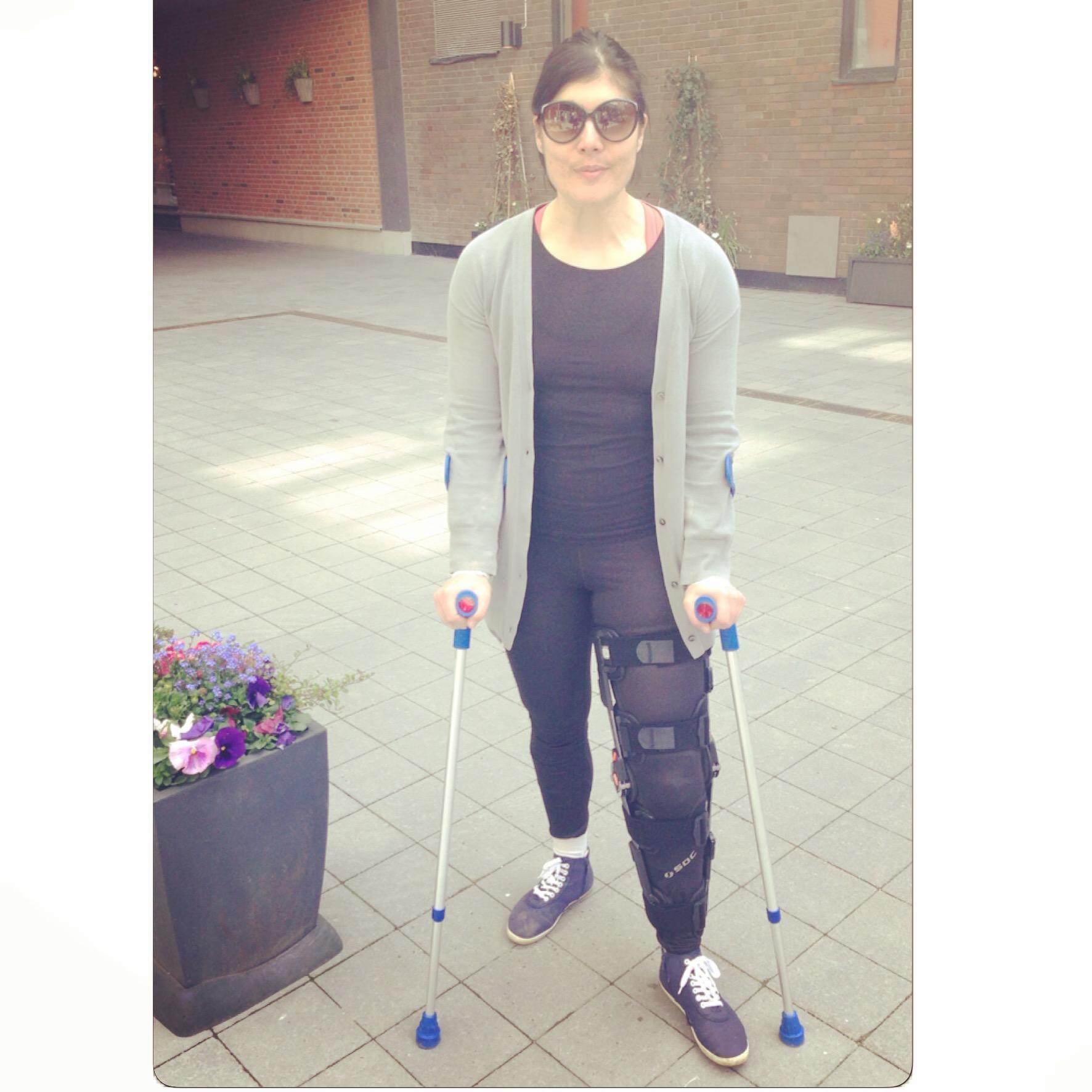 träning efter knäoperation