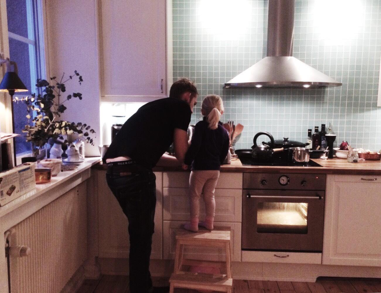laga mat med barnen
