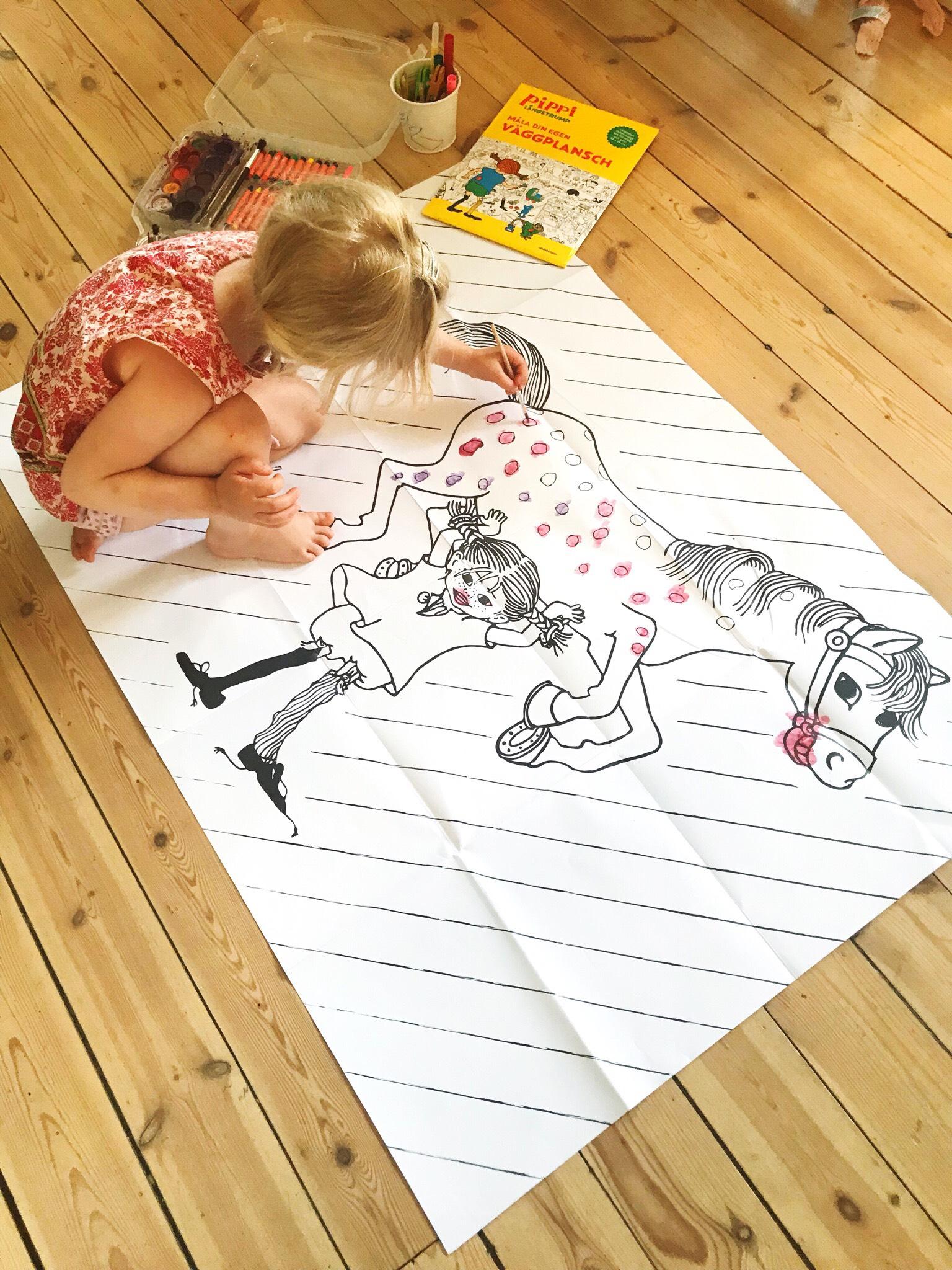 väggplansch