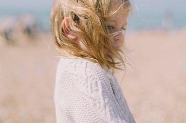 blyga barn